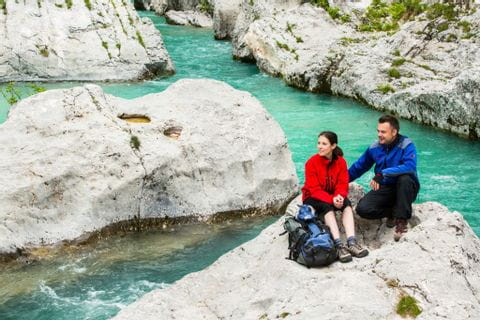 Hiking without luggage in the Triglav National Park