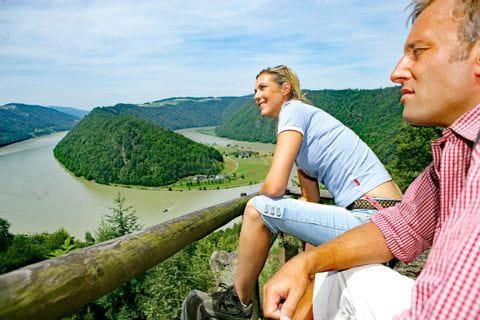 Traumhafter Ausblick auf die Donau