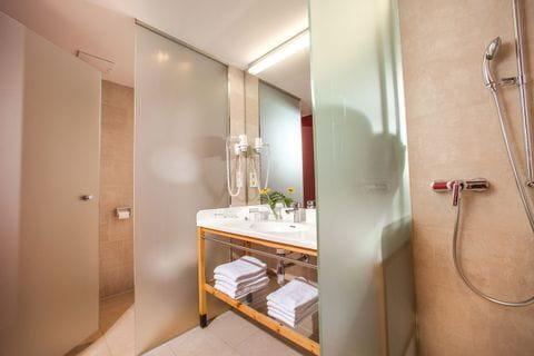 Badezimmer der Villa Seilern