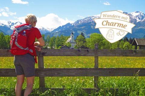 Blick auf das Kitzsteinhorn