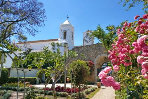 Ausblick auf Kirche Igreaja do Castelo