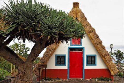 Traditionshaus auf Madeira