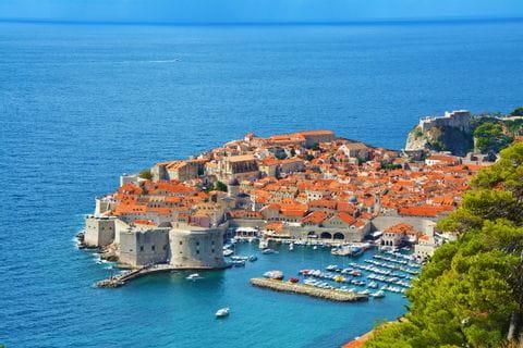 Coastal town in Croatia