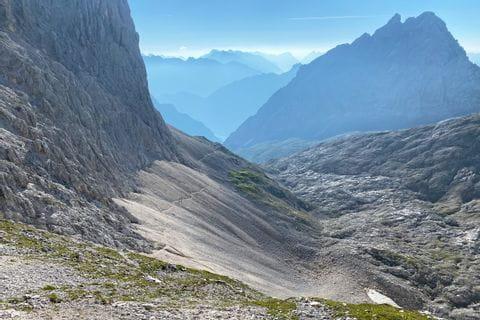 Steinmassive am Tirolerweg