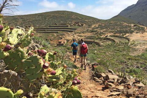 Wanderer auf dem Arona Conde