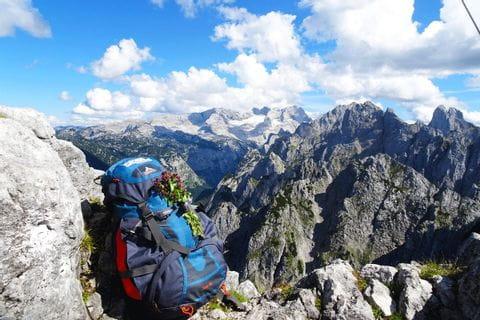 Eurohike Rucksack im Hochgebirge