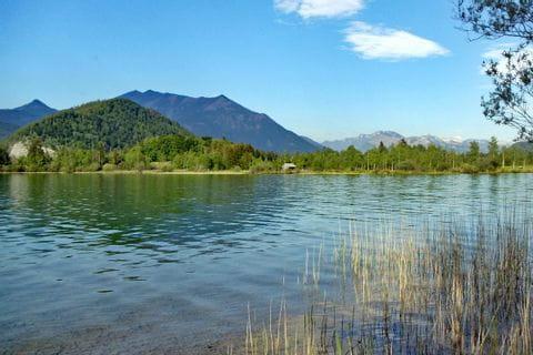 Ausblick auf den Wolfgangsee im Salzkammergut