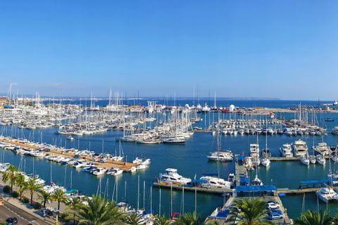 Hafen am Wanderweg durch Mallorca