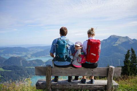 Familienwandern im Salzkammergut
