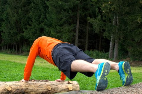 Forest Workout Exercise Push Ups<br/>