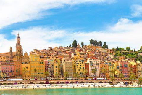 Sehenswerte Stadt Menton auf der Wanderreise an der Côte d'Azur