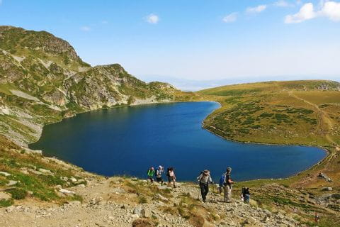 Seven lakes circular hike in the Rila Mountains
