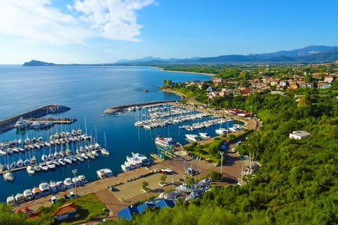 Port near Santa Maria Navarrese