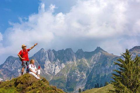 Wanderpanorama in der Ostschweiz
