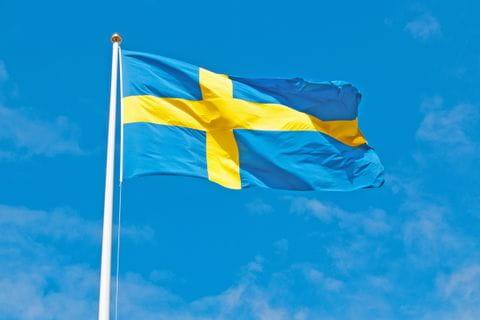 Schwedische Landesflagge