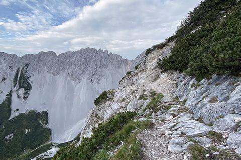 Eindrücke vom Höhenweg am Tirolerweg