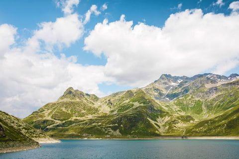 Bergsee in Splügen