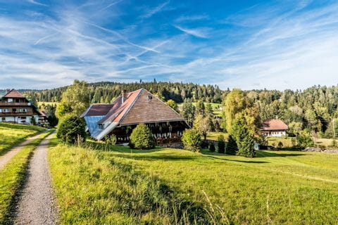 Charming village at the Black Forest