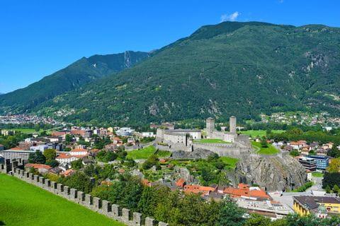 Burgen Bellinzona