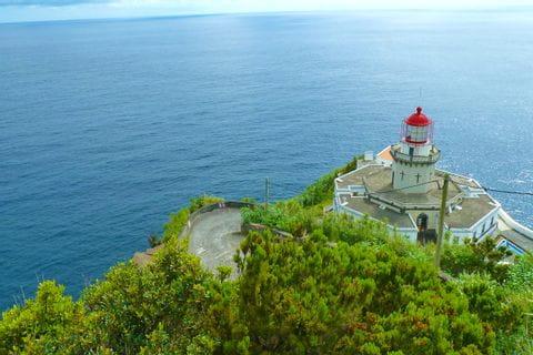 Leuchtturm Nordeste Farol Ponta do Arnel