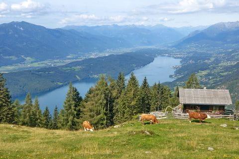 Fantastic view of Lake Wörthersee