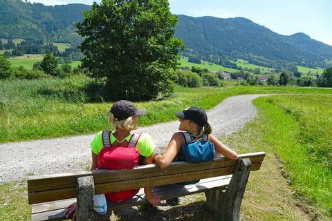 Wanderrast am König Ludwig Weg