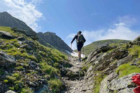 Wandern zur Hagener Hütte im Gasteinertal