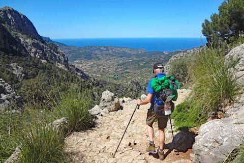 Faszinierendes Bergwandern auf Mallorca bei Biniaraix