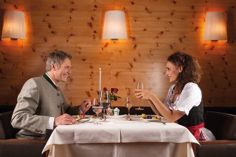 Abendessen in der Villa Seilern
