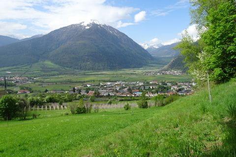 Panorama auf der Via Claudia Augusta