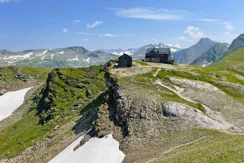 View over the Hagener hut
