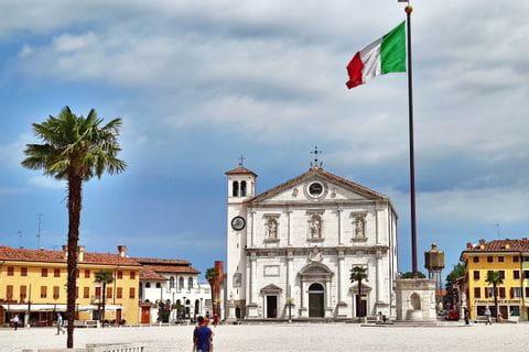 Stadtkern von Udine