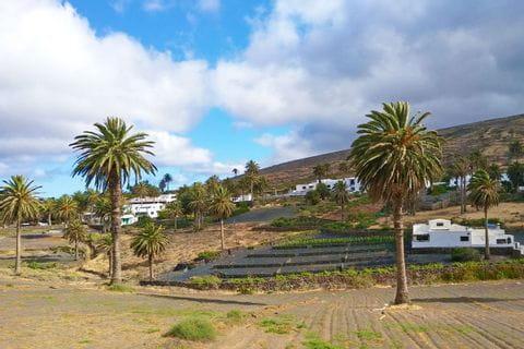 Hiking trail through Pamen in Haria