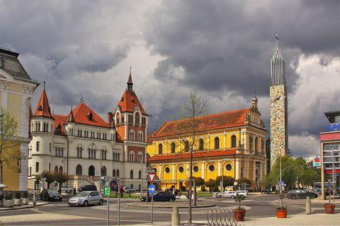 Ortsplatz in Feldbach