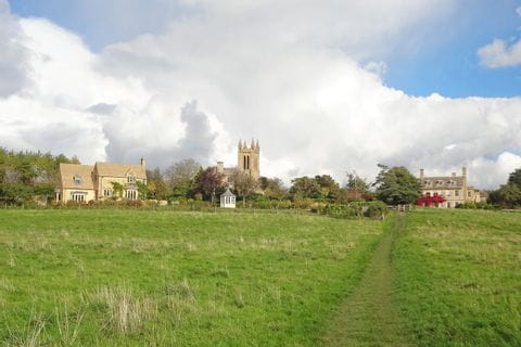 Hiking path Cotswolds and Shakespeare