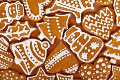 Traditional gingerbread in Croatia