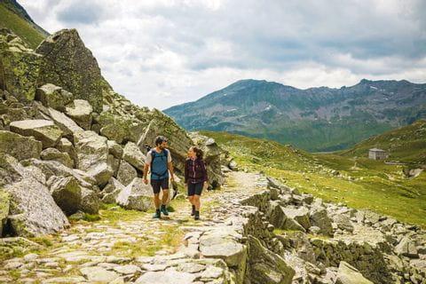 Wanderung in der Schweizer Bergwelt