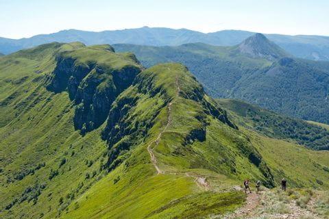Cantal Wanderweg im Zentralmassiv
