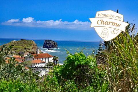 Hiking panorama Porto da Cruz