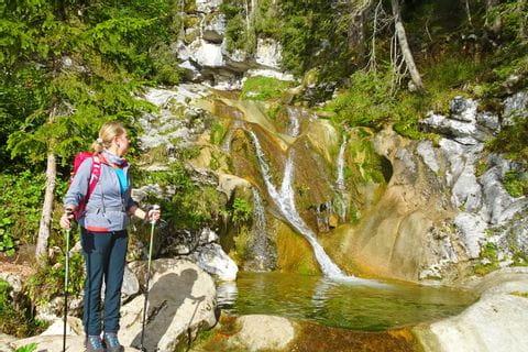 Wasserfallweg in Lofer