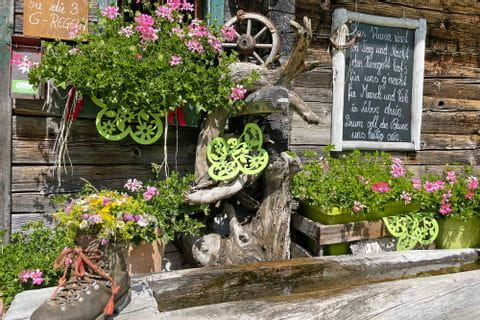 Well in front of the Hagener hut in the Gasteinertal