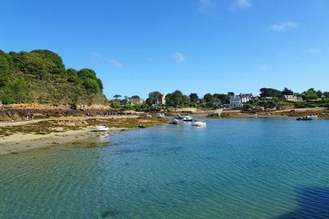 Wandern entlang des Meeres auf der Île de Bréhat