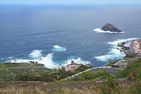 Ausblick auf die Küste in Garachico