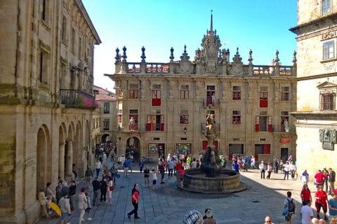 Cultural place of Santiago de Compostela