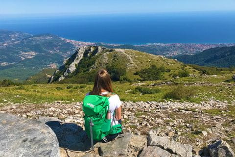 View from Monte Carmo