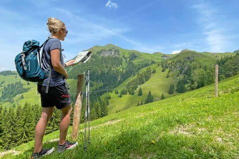 Hiking based in one hotel in Kitzbühel