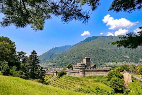 Castle Montebello in Bellinzona
