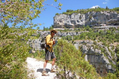 Wanderweg in den Gorges du Verdon