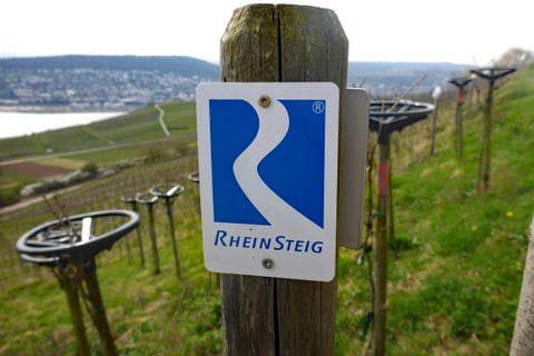 Sign posting Rheinsteig