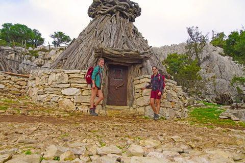Schäferhütte in Richtung Golgo